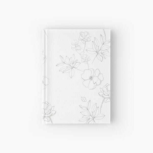 Romantic White Hardcover Journal