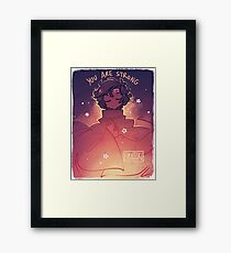 You are Strong Framed Print