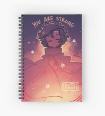You are Strong Spiral Notebook