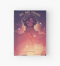 You are Strong Hardcover Journal