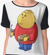 FAT Lego Boy  Chiffon Top