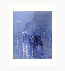 Rainy Midnight -  Childe Hassam Art Print