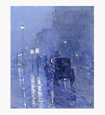 Rainy Midnight -  Childe Hassam Photographic Print