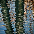 Water abstract by Celeste Mookherjee