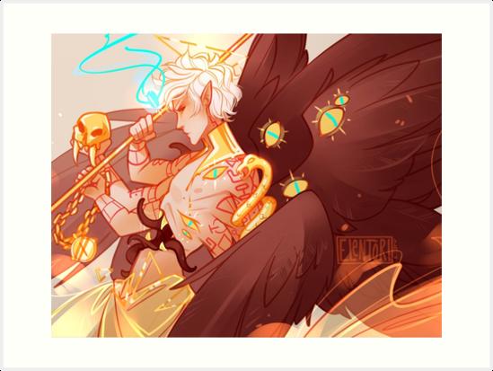 Angel Of Death By Elentori