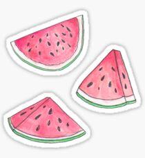 Watercolour Watermelons Sticker