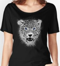 White Tiger - Paint Splatters Dubs Women's Relaxed Fit T-Shirt