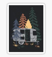 Wild Airstream... Sticker
