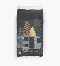 Wild Airstream... Duvet Cover