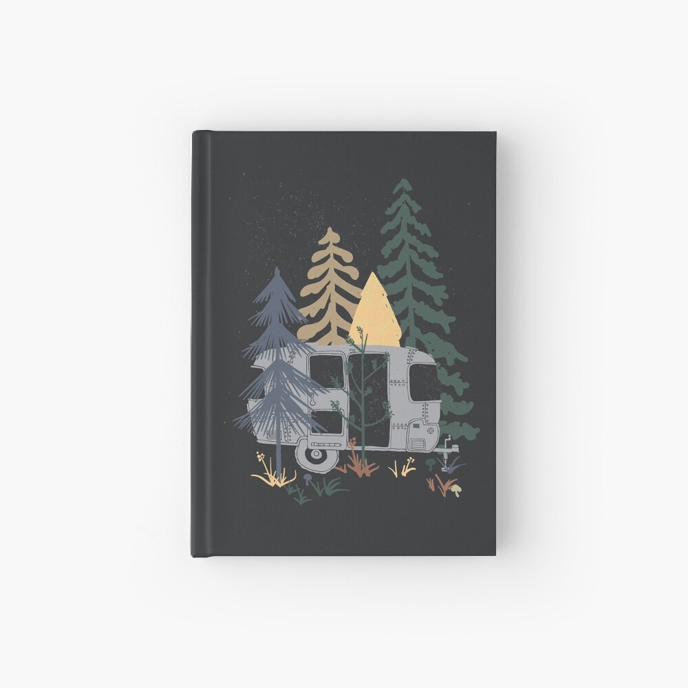 Wild Airstream... Hardcover Journal