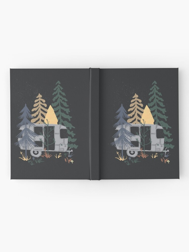 Alternate view of Wild Airstream... Hardcover Journal