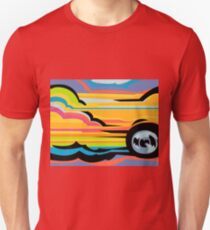 Fast Car - Abstract Graphic Unisex T-Shirt