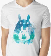 Forest Spirits  Men's V-Neck T-Shirt