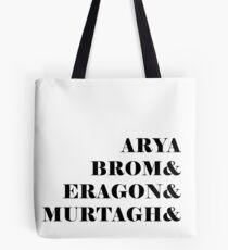 Eragon names Tote Bag