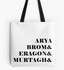 Eragon names Tote Bag