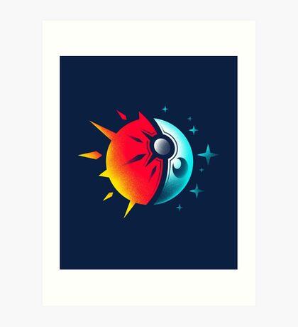 Solis et Lunae Art Print