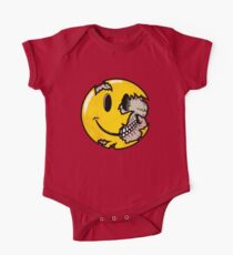 Smiley face skull One Piece - Short Sleeve
