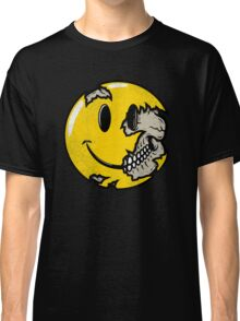 Smiley face skull Classic T-Shirt