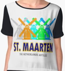 St. Maarten Women's Chiffon Top