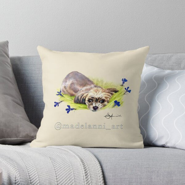 I Am Small Throw Pillow