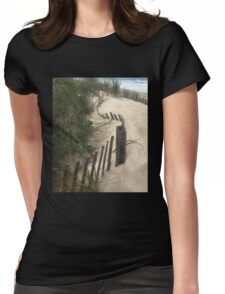 Dune Anchor Womens Fitted T-Shirt