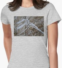 frosted stems  Womens Fitted T-Shirt