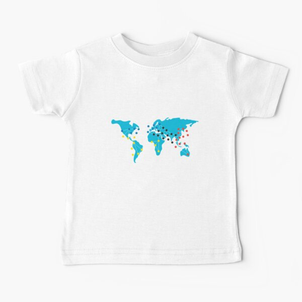 Pandemia Boardgames Baby T-Shirt