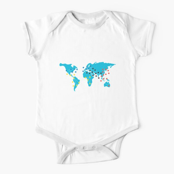 Pandemia Boardgames Short Sleeve Baby One-Piece
