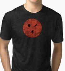 Preacher - Arseface - Red Dirty Tri-blend T-Shirt