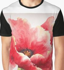 Big Red Poppy Graphic T-Shirt