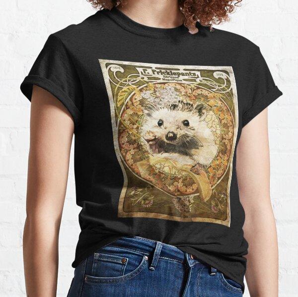 Art Nouveau Hedgehog Classic T-Shirt