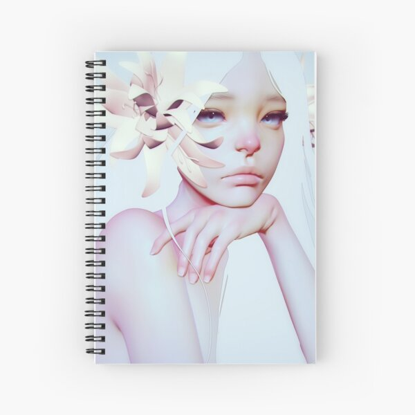 Ask The Sky Spiral Notebook