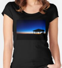 Silhouette on the Ranges Women's Fitted Scoop T-Shirt