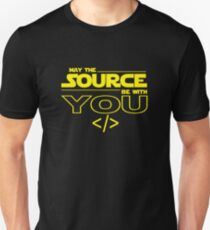 May the Source be with You T-Shirt