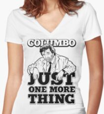 Columbo Women's Fitted V-Neck T-Shirt