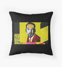 """Langston Hughes - Scandalous""  Throw Pillow"