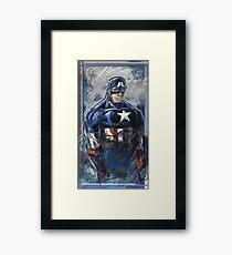 Cap! Framed Print
