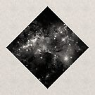 Space Diamond - Abstract, Geometric Space Scene by Printpix