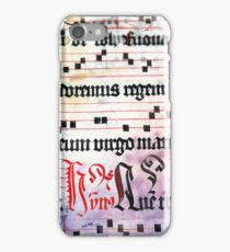 Choral Book Middle Ages - Music Vintage iPhone Case/Skin