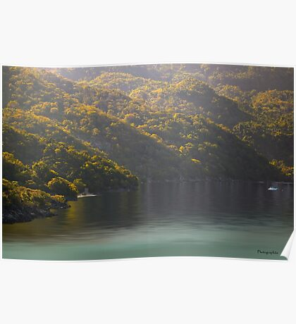 Sunrise over the Bay of Labadee, Haiti Poster