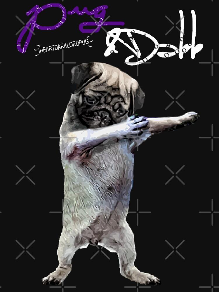 Mops und Dabb von darklordpug