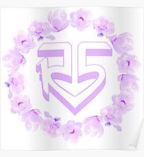 """R5"" Flower Crown Logo Poster"