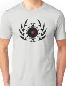 Retro Vinyl Records - Vinyl Tribal Spikes - Music DJ T-Shirt