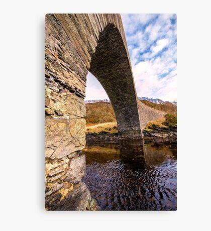 Bridge over the Atlantic Canvas Print