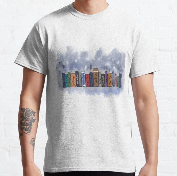 Pila de libros Brandon Sanderson Camiseta clásica