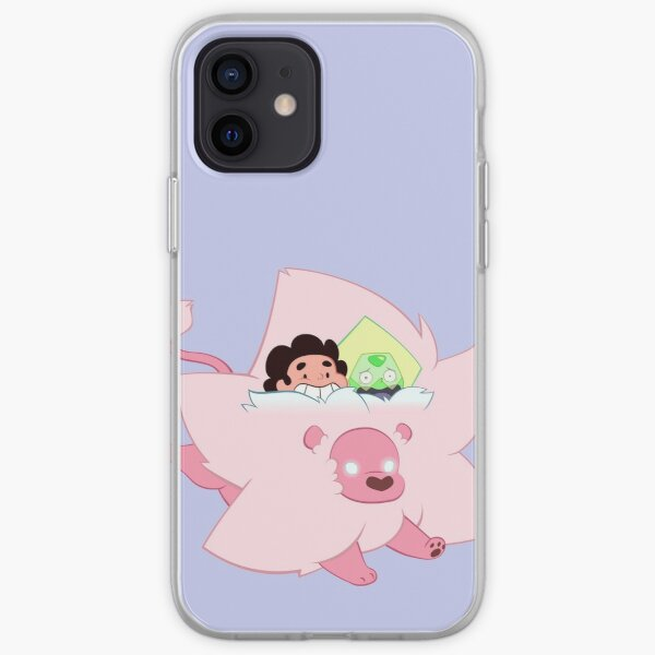 Tiny Lion with Peridot and Steven iPhone Soft Case