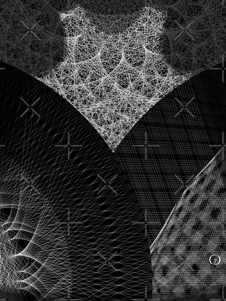 Contemporary Mandalas Track | Slow Down | Black hole by AtelierGaudard
