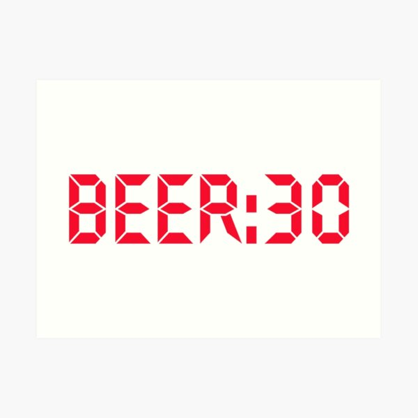 Bier Kunstdruck