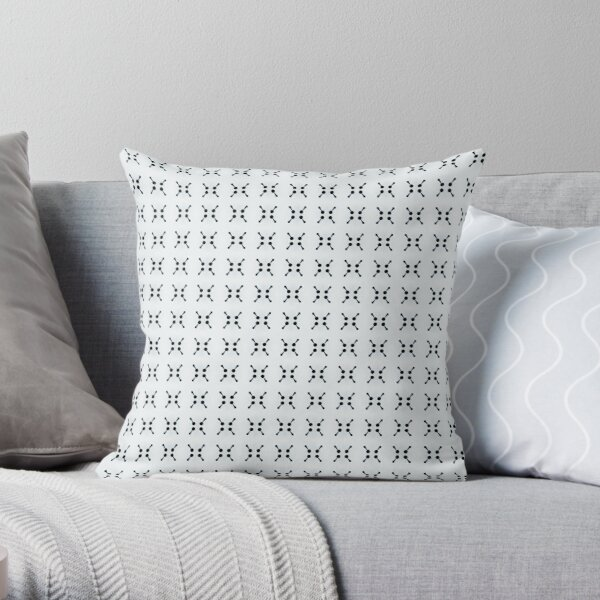 Pattern Pattern Retro Modern Abstract Design # 37 Throw Pillow