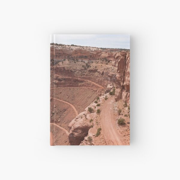 Shafer Trail - Panorama Hardcover Journal